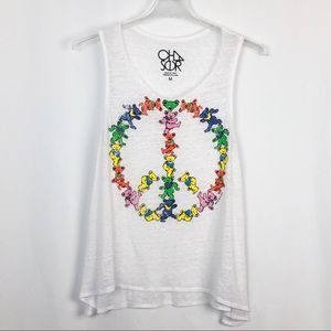 Chaser | Grateful Dead Peace Tank Bears